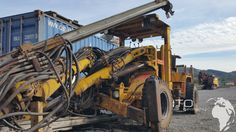 Used #atlascopco #Boomer 282 for sale http://www.ito-germany.de/kaufen/atlas-copco #images Mining Equipment for sale from Germany 2008 Atlas copco Jumbo Boomer #boomer #hydropower