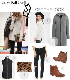 Get the look: Cozy fall outfit