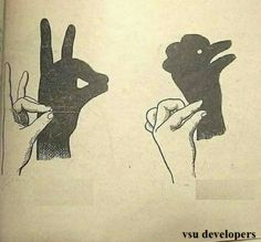 Shadow Art, Shadow Play, Origami Hand, Shadow Puppets With Hands, Diy Toys And Games, Hand Shadows, Geography Map, Kids Corner, Unusual Gifts