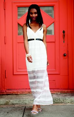 Lovely white dresses now at CharlotteRusse.com and in stores!