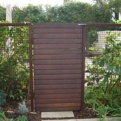 Modern Upcycled Fence