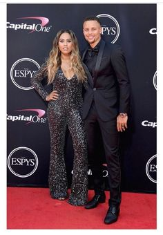 ayesha and stephen curry | espys 2017