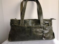 Green Tula Handbag