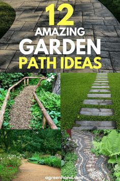 There are many forms a path can take and weve prepared some amazing garden path ideas for you. There are many forms a path can take and weve prepared some amazing garden path ideas for you. Home Landscaping, Front Yard Landscaping, Amazing Gardens, Beautiful Gardens, Unique Garden, Pergola, Path Ideas, Walkway Ideas, Garden Projects