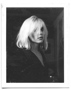 debbie harry photographed by punk photographer julia gorton, sometime in the late 1970s