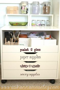 A couple extra of these would suit me fine & do the trick--like the visuals on the bottom drawers!