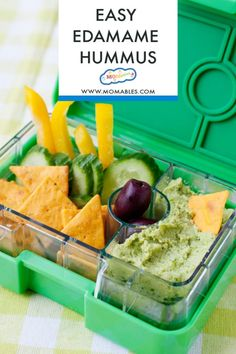 Healthy Edamame Hummus makes a satisfying, protein-packed dip. Serve it with fresh veggies, pita chips, or whole-grain crackers for a healthy snack. #snacks Homemade Velveeta, Recipes With Velveeta Cheese, Homemade Chicken Nuggets, Chicken Nugget Recipes, Healthy Dip Recipes, Healthy Dips, Edamame Hummus, Breakfast Cookie Recipe, Baked Lasagna