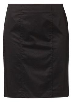 Sisley - CLASSIC PENCIL - Blyantnederdel / pencil skirts - sort