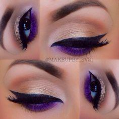 Purple pop on bottom lid