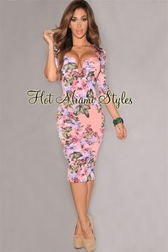http://www.hotmiamistyles.com/Pink_Multi_Color_Floral_Midi_Padded_Dress_p/d4231pink.htm