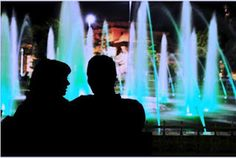 public space Lighting design by New York Plantings Irrigation and Landscape Lighting. Contact Us : 646-434-8049
