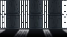 Star Wars Imperial wall panel by Balsavor on DeviantArt Luke Skywalker, Star Wars Death Star, Decoration Star Wars, Nave Star Wars, Star Wars Bedroom, Star Wall, Star Wars Gifts, Star Wars Party, Panel Doors