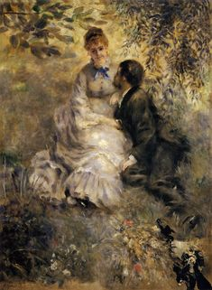 The Lovers by Auguste Renoir