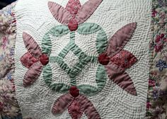 some hand quilting