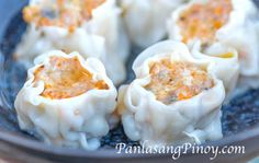 This Crab and Pork Shumai Recipe produce one of the best shumai or siomai that I have tried. Crab and pork seems to be a good combination when done the appropriate way.