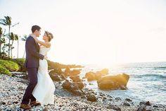 Maui Sunset Destination Wedding by Bliss - Caprice Nicole Photography