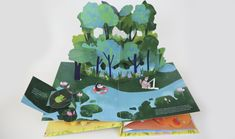 Pop up books design by Moon Qi Arte Pop Up, Pop Up Art, Homemade Greeting Cards, Greeting Cards Handmade, Cuento Pop Up, Diy And Crafts, Paper Crafts, Kids Pop, Paper Pop