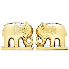 gold elephant bookends #decor