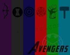 The Avengers Poster Print por tkbdesigns en Etsy