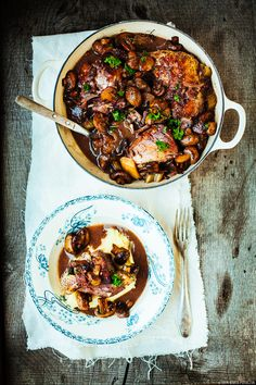 simplified coq au vin