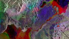 This Colorful Satellite Image Shows How the World Is Being Torn Apart