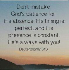 Gods patience