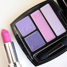 Dare To Be Bold and match a purple smokey eye with a hot pink lip!