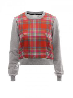 789839c42070 Moving a little further North, Markus Lupfer has put his own spin on  traditional Tartan with the Bright Tartan Alison Sweat. The oversized  tartan design ...