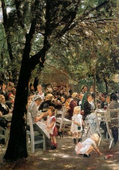 max liebermann- beer garden in Munich