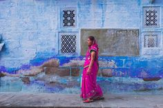 """i photographed this photo in #jodphur which is called as """" The Blue City of Rajasthan """" #india 2016"""