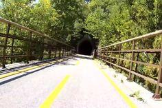 Ecco qui altri meravigliosi posti dove poter pedalare, su percorsi appositamente pensati per le bici