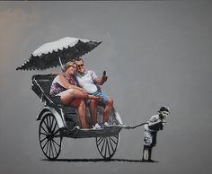 Banksy in the streets. Veja também: http://semioticas1.blogspot.com.br/2012/11/banksy-guerra-e-grafite.html