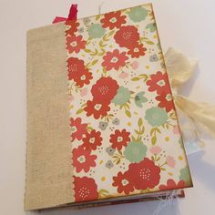 Tea Party Themed Journal still available in my shop. Would make a lovely guestbook for a garden party or Birthday gift.