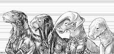 GURPS Aliens | Art Gallery from GURPS Traveller: Alien Races 2 Types Of Science, Alien Races, Alien Worlds, Alien Art, Geek Gear, Interstellar, Outer Space, Character Concept, Pretty Pictures