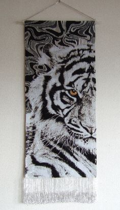 タペストリー『混沌_Tiger』