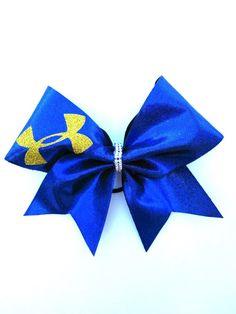 b5921fa7867c8 Under Armour Bow by Just Cheer Bows Softball Hair Bows
