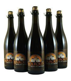Waroux - Pack shot 5 bouteilles