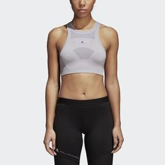 Looking for the right women's sports bra for your workout? Choose from our selection of supportive, colorful sports bras in the official adidas store. Stella Mccartney Adidas, Black Women, Active Wear, Sportswear, Street Wear, My Style, Shopping, Support Bra, Barre