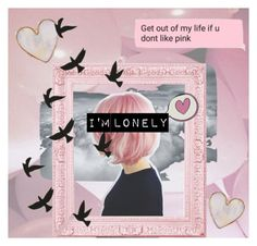 """""""I'm Lonely"""" by veganwithachainsaw on Polyvore featuring art"""