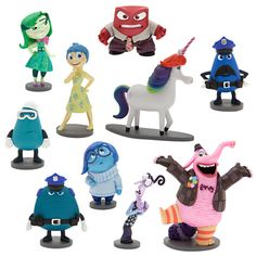 Disney Parks Pixar Inside out Deluxe Figure Playset Cake Topper Set for sale online Movie Inside Out, Disney Inside Out, Bing Bong, Vice Versa, Disney Pixar Movies, Disney Figurines, Disney Dolls, Disney Infinity, Disney Merchandise