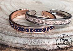 Little stars #beadsjewelry #jewelry #fashion #beadsbracelet #bracelet #miyuki #ownembrace #rosegold #silver #pink