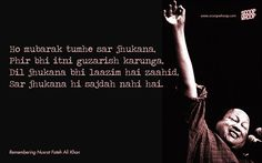 15 Nusrat Fateh Ali Khan Qawwalis That Are Sure To Give You Goosebumps Nfak Quotes, Sufi Quotes, Hindi Quotes, Best Quotes, Quotations, Qoutes, Love Quotes Poetry, Mixed Feelings Quotes, Best Urdu Poetry Images