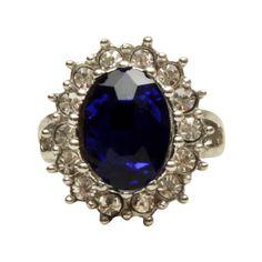 Anel Middleton Azul — Nineteen Acessórios