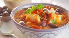 Fish Stew, Thai Red Curry, Cod, Food And Drink, Ethnic Recipes, Healthy Dinners, Portuguese, Clean Dinners, Cod Fish