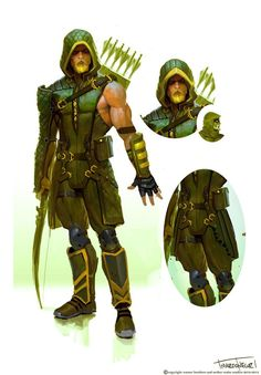 Awesome Haul Of INJUSTICE: GODS AMONG US Concept Art