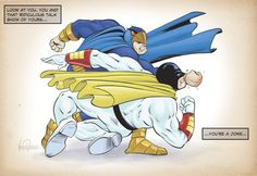 The Blue Falcon Rises, and beats down the Mighty Space Ghost, lol