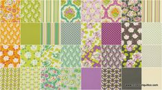 Lottie Da Charm Pack - Heather Bailey - Free Spirit Fabrics