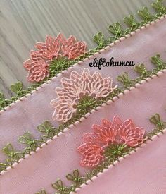 42 Different Easy Needle Lace Models That Anyone Can Make - hacı - Baby Knitting Patterns, Knitting Yarn, Embroidery Patterns, Hand Embroidery, Crochet Patterns, Crochet Lace Edging, Crochet Flowers, Filet Crochet, Woolen Craft