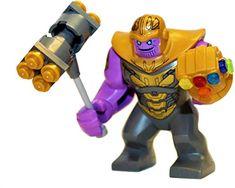 Lego Marvel Avengers Compound Battle for sale online Lego Thanos, Thanos Marvel, Lego Hulk, Lego Marvel's Avengers, Marvel Films, Cool Lego, Avengers Infinity War, Lego City, Mini