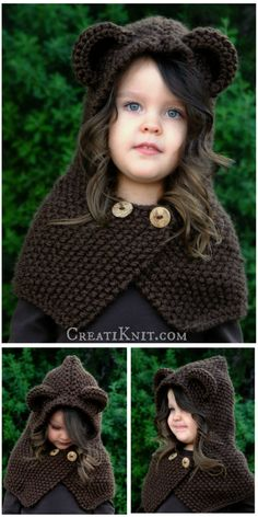 The Briar Bear Cowl - Knitting Pattern.